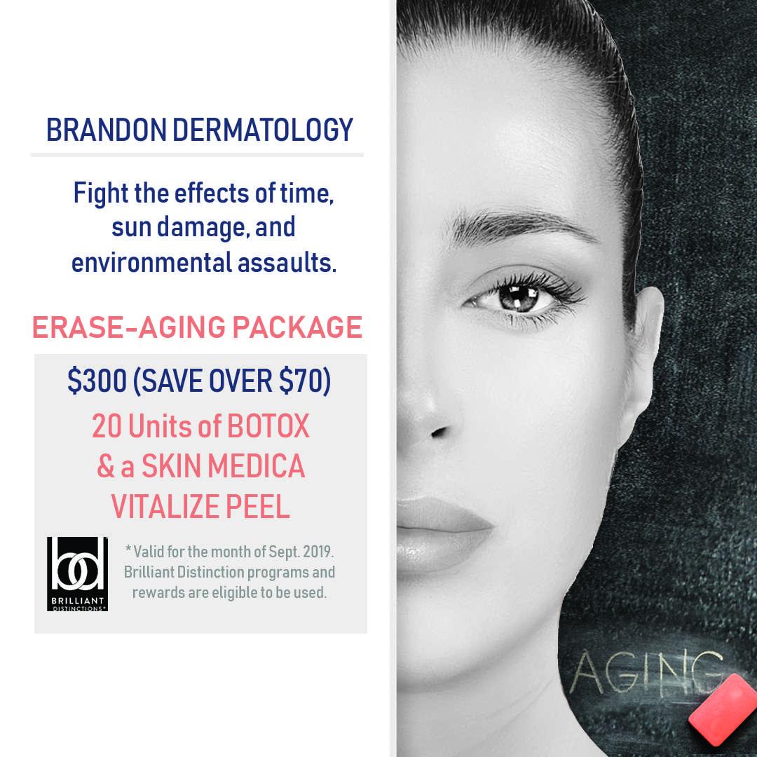 Anti Aging Package Botox and vitalize Skin Medica peel