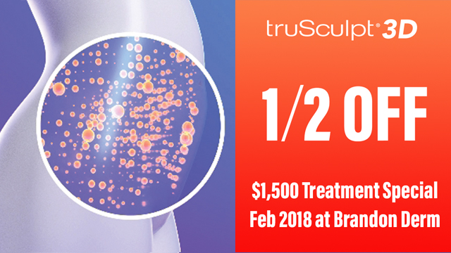 1/2 OFF savings of $1,500 for the Month of February 2018