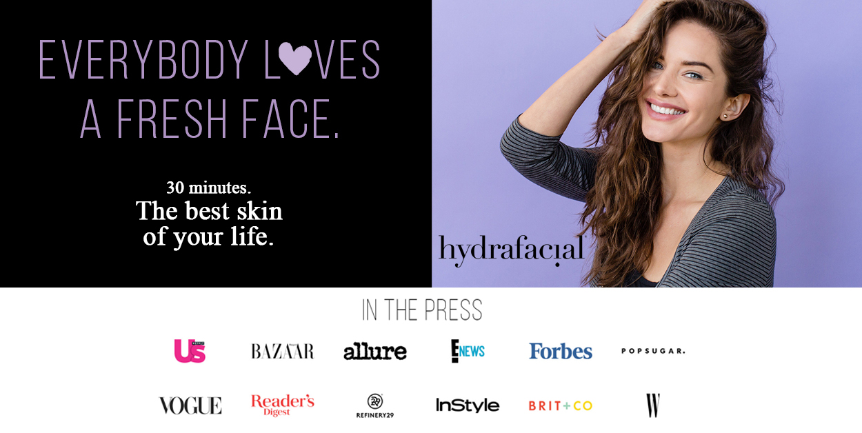 hydrafacial 3 steps 30 minutes the best skin of your life