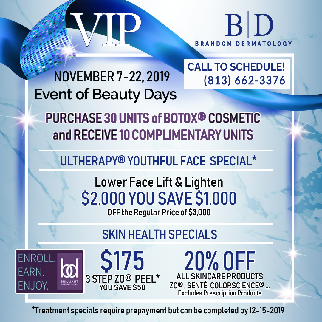 Brandon Dermatology's Sale of the Year